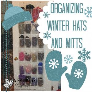 organize mitts and hats