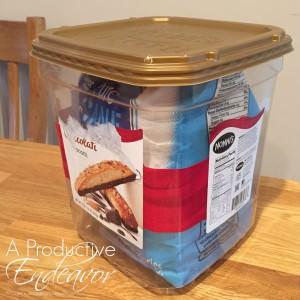 Organizing bins 3